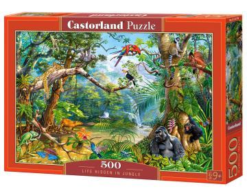 Life Hidden in Jungle,Puzzle 500 Teile · CAS 52776 ·  Castorland