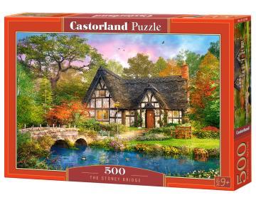 The Stoney Bridge - Puzzle -  500 Teile · CAS 52783 ·  Castorland