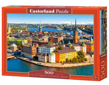 The Old Town of Stockholm,Sweden - Puzzle - 500 Teile · CAS 52790 ·  Castorland