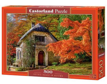 Gothic House in Autumn - Puzzle - 500 Teile · CAS 52806 ·  Castorland