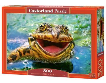 Green & Fun - Puzzle - 500 Teile · CAS 52813 ·  Castorland