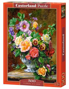 Flowers in a Vase - Puzzle - 500 Teile · CAS 52868 ·  Castorland
