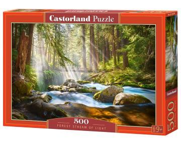 Forest Stream of Light - Puzzle - 500 Teile · CAS 52875 ·  Castorland