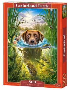 Swimming Dog - Puzzle - 500 Teile · CAS 52882 ·  Castorland