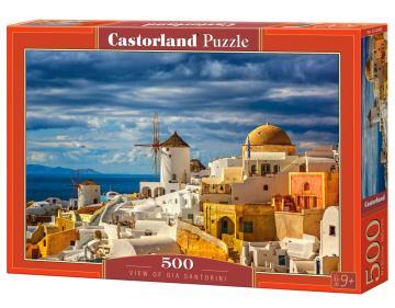 View of Oia Santorini - Puzzle - 500 Teile · CAS 52905 ·  Castorland