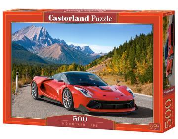 Mountain Ride - Puzzle - 500 Teile · CAS 52967 ·  Castorland
