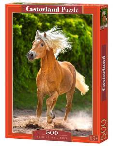 Running Haflinger - Puzzle - 500 Teile · CAS 52981 ·  Castorland