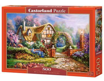 Wiltshire Gardens - Puzzle - 500 Teile · CAS 53032 ·  Castorland