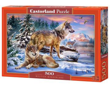 Wolfish Wonderland - Puzzle - 500 Teile · CAS 53049 ·  Castorland