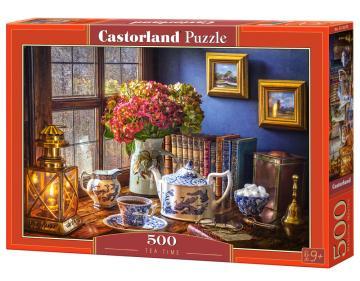Tea Time - Puzzle - 500 Teile · CAS 53070 ·  Castorland