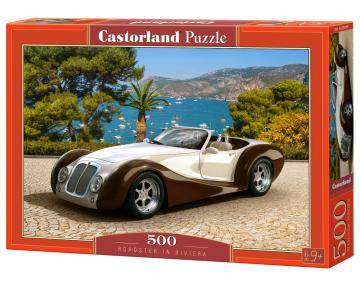 Roadster in Riviera - Puzzle - 500 Teile · CAS 53094 ·  Castorland