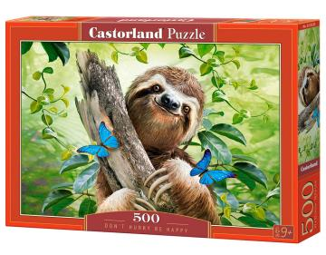 Don´t Hurry Be Happy - Puzzle - 500 Teile · CAS 53223 ·  Castorland