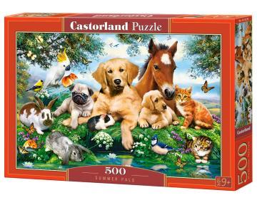 Summer Pals - Puzzle - 500 Teile · CAS 53230 ·  Castorland