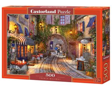 French Walkway - Puzzle - 500 Teile · CAS 53261 ·  Castorland
