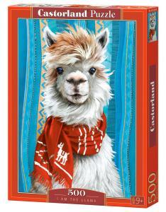 I am the Llama - Puzzle - 500 Teile · CAS 53308 ·  Castorland