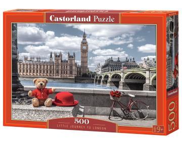 Little Journey to London - Puzzle - 500 Teile · CAS 53315 ·  Castorland