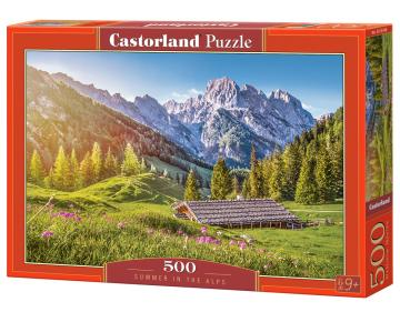 Summer in the Alps - Puzzle - 500 Teile · CAS 53360 ·  Castorland