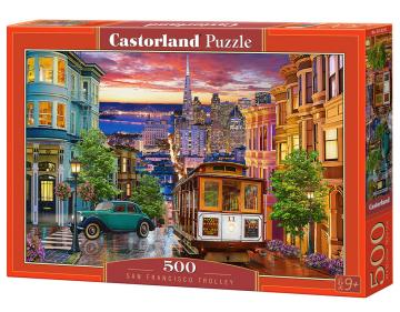 San Francisco Trolley - Puzzle - 500 Teile · CAS 53391 ·  Castorland