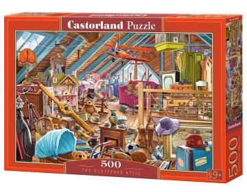 The Cluttered Attic - Puzzle - 500 Teile · CAS 53407 ·  Castorland