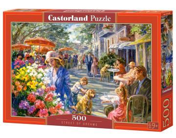 Street of Dreams - Puzzle - 500 Teile · CAS 53438 ·  Castorland