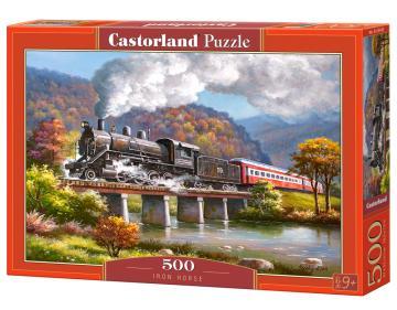 Iron Horse - Puzzle - 500 Teile · CAS 53452 ·  Castorland