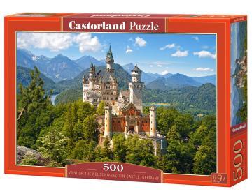 View of the Neuschwanstein Castle, Germany - Puzzle - 500 Teile · CAS 53544 ·  Castorland