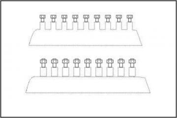 Sechskant- Schrauben 1,0 mm (44 Stk.) · CMK 014 ·  CMK