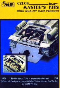 T-34 Getriebe · CMK 03006 ·  CMK · 1:35