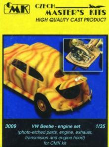 Volkswagen type 87 - Motor Set · CMK 03009 ·  CMK · 1:35