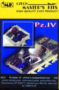 PzKpfw IV - Driver set. · CMK 03012 ·  CMK · 1:35