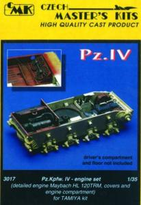 PzKpfw IV - Motor Set · CMK 03017 ·  CMK · 1:35