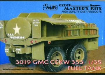 GMC CCKW 353 fuel tank - Umbauset · CMK 03019 ·  CMK · 1:35
