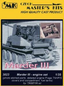 Marder III - Motor Set · CMK 03023 ·  CMK · 1:35