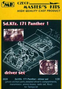 Sd.Kfz. 171 Panther - Driver Set · CMK 03029 ·  CMK · 1:35
