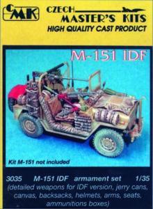 M-151 IDF - Waffen Set · CMK 03035 ·  CMK · 1:35