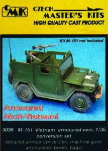 M-151 Vietnam Armoured version - Conversion set · CMK 03036 ·  CMK · 1:35