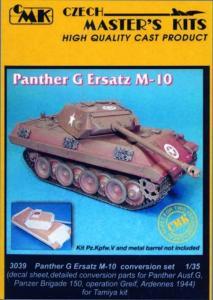 Panther G Ersatz M-10 - Umbauset · CMK 03039 ·  CMK · 1:35