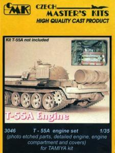 T-55A - Motor Set · CMK 03046 ·  CMK · 1:35