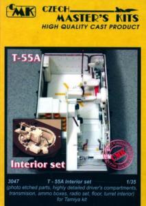 T-55A - Interior set [Tamiya] · CMK 03047 ·  CMK · 1:35