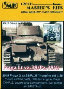 Praga Lt.vz. 38/Pz.38(t) - Motor Set · CMK 03049 ·  CMK · 1:35