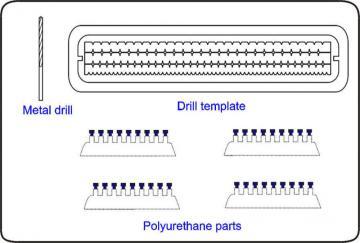 Schrauben mit Muttern, 2mm, 44 St. mit Bohrer 1,4 mm · CMK 10006 ·  CMK
