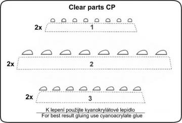 Navigation Lichter klar · CMK 10010 ·  CMK