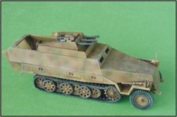 Sd.Kfz. 251/21 Ausf. D Drilling · CMK 2015 ·  CMK · 1:72