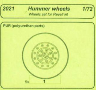 Hummer - Wheels [Revell] · CMK 2021 ·  CMK · 1:72