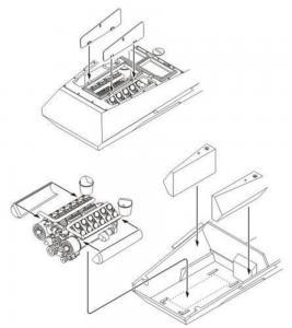 Sd.Kfz. 234 - Engine set · CMK 2040 ·  CMK · 1:72