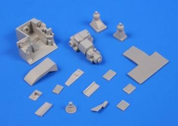 M1A Abrams - Engine Set · CMK 2042 ·  CMK · 1:72