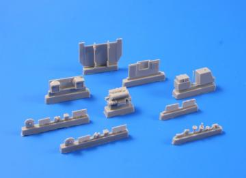 StuG III Ausf. B - Engine set [Trumpeter] · CMK 2051 ·  CMK · 1:72