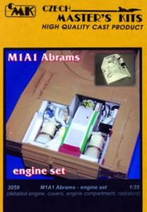 M1A1 Abrams - Motor [Tamiya] · CMK 3059 ·  CMK · 1:35