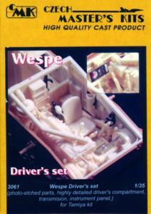 Wespe - Fahrer-Set · CMK 3061 ·  CMK · 1:35
