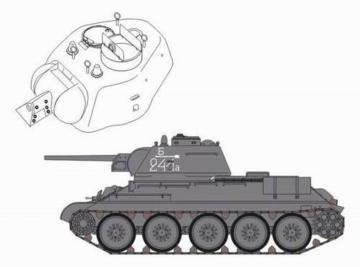 T-34/76 model 1943 Chtz · CMK 3069 ·  CMK · 1:35